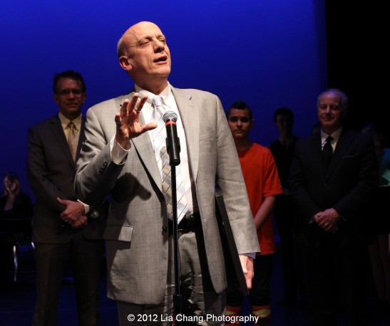 Rosie's Theater Kids' honoree Tom Viola, executive director of Broadway Cares/Equity Fights Aids. Photo by Lia Chang