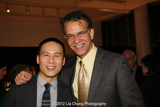 BD Wong and Brian Stokes Mitchell. Photo by Lia Chang