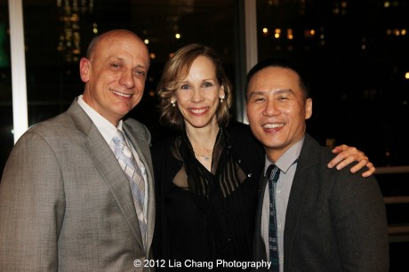 Tom Viola, Lori Klinger and BD Wong. Photo by Lia Chang