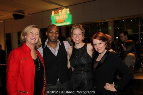 Valerie Norton, Brandon Victor Dixon, Thecla Morganstern and Lisa Danser. Photo by Lia Chang