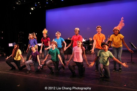 Rosie's Theater Kids in King Matt the First. Photo by Lia Chang