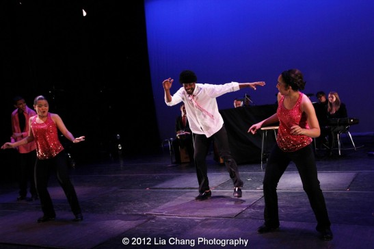 Derick K. Grant and Rosie's Theater Kids. Photo by Lia Chang