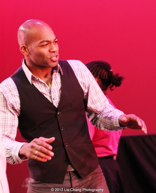 Brandon Victor Dixon. Photo by Lia Chang