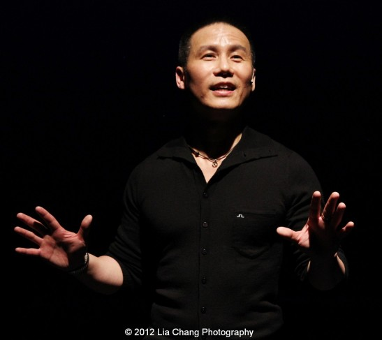 BD Wong Photo by Lia Chang