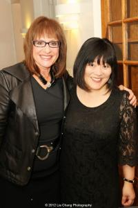 Patti LuPone and Ann Harada. Photo by Lia Chang