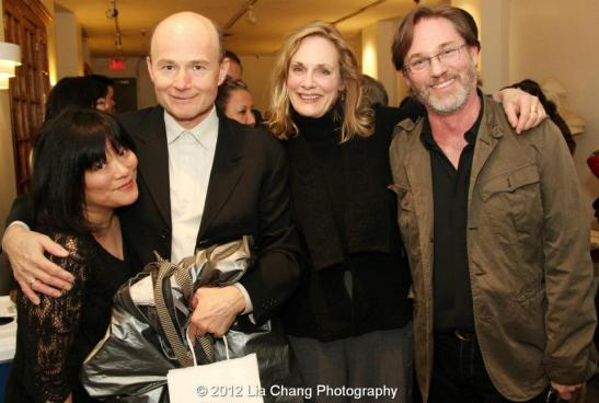 Ann Harada, Henry Stram, Lia Emery and Richard Thomas. Photo by Lia Chang