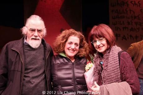 Jarlath Conroy, Mary Testa and Gordana Rashovich. Photo by Lia Chang