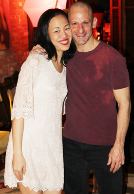 Lia Chang and Mark Bennett