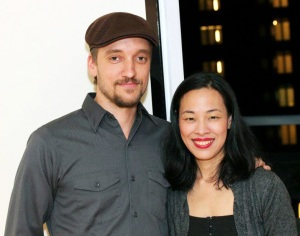 Frank Boyd and Lia Chang (Photo by Richard Atkinson)