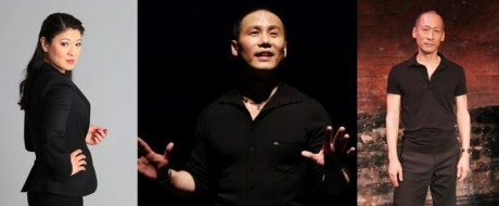 Jennifer Lim, BD Wong and Francis Jue (Photos by Lia Chang)