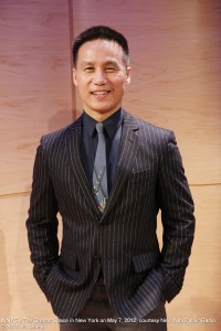 BD Wong at WNYC's The Greene Space in New York on May 7, 2012, courtesy New York Public Radio. © 2012 Lia Chang