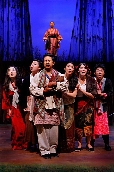 Mu Performing Arts' Into the Woods, directed by Rick Shiomi. Photo by Michal Daniel