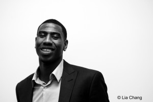 New York Knicks Guard Iman Shumpert © Lia Chang