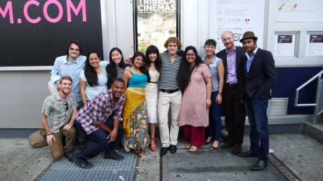 Cast and Crew at our Let's Be Out, The Sun is Shining premiere at Tribeca Cinemas in New York on May 26, during the New York Indian Film Festival (NYIFF).