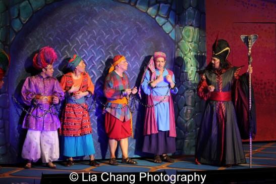 Robin de Jesus, Francis Jue, Eddie Korbich, Jason Graae and Thom Sesma. Photo by Lia Chang