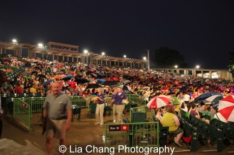 The Muny has 11,000 seats. Photo by Lia Chang