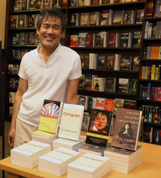 Tony award winning playwright David Henry Hwang at NYFA Book Talk at Barnes & Noble East 86th St. in New York on July 26, 2012. Photo by Lia Chang