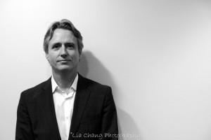 Linus Roache. Photo by Lia Chang