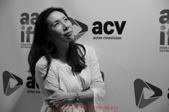 Jodi Long, a filmmaker and actor, who is currently appearing on Sullivan and Son with Steve Byrne, at the 35th Asian American International Film Festival, at the Clearview Chelsea Cinemas in New York on August 4, 2012. Photo by Lia Chang