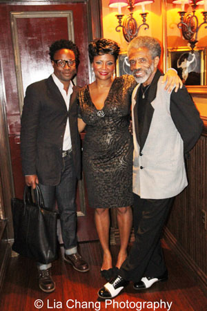 Billy Porter, Tonya Pinkins and André De Shields. Photo by Lia Chang
