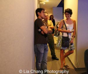 Michael Kang, Nick Sakai and Kimberly Rose Wolter. Photo by Lia Chang