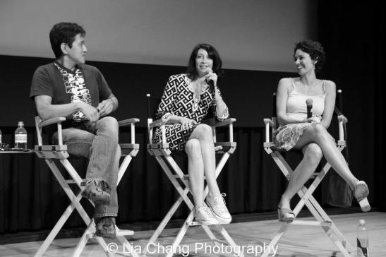 Michael Kang, Illeana Douglas and Kimberly_Rose Wolter._Photo by Lia Chang