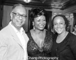 George C. Wolfe, Tonya Pinkins and S. Epatha Merkerson. Photo by Lia Chang