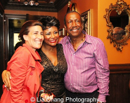 Jeanine Tesori,Tonya Pinkins and George Faison. Photo by Lia Chang