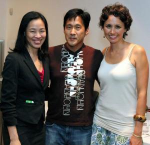 Lia Chang, Michael Kang and Kimberly-Rose Wolter.