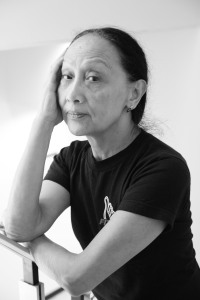 Ching Valdes-Aran at the Phillippine Gallery Center in New York on October 20, 2012.  Photo by Lia Chang