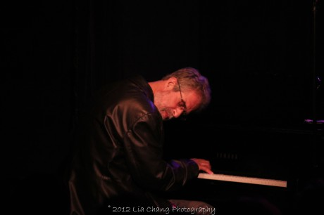 Composer Steve Margoshes in concert at The Laurie Beechman on October 5, 2012. Photo by Lia Chang