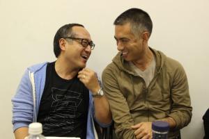 The King and I director Alan Muraoka and choreographer Andrew Sakaguchi. Photo by Lia Chang
