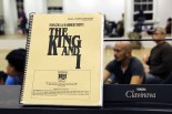 The King and I score. Photo by Lia Chang