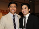 Paolo Montalban and Greg Watanabe. Photo by Lia Chang
