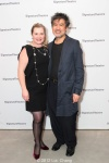 Kathryn Layng and her husband playwright David Henry Hwang. Photo by Lia chang