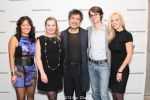 Grace Hwang, Kathryn Layng, David Henry Hwang and guests. Photo by Lia Chang