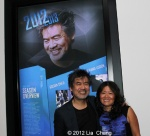 Golden Child playwright David Henry Hwang with his sister Grace Hwang. Photo by Lia Chang
