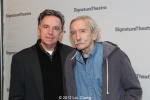 Founding artistic director James Houghton and playwright Edward Albee. Photo by Lia Chang