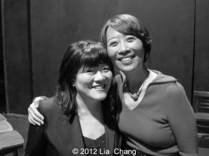 Ann Harada and Jeanne Sakata. Photo by Lia Chang