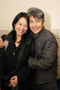 Christine Toy Johnson and Jason Ma. Photo by Lia Chang