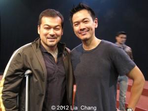 Dave Shih and Joel de la Fuente. Photo by Lia Chang