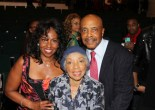 Pauletta Pearson Washing, Ruby Dee and Roscoe Orman at the Schomberg in New York in October, 2012, after a reading of Lorey Hayes' Power Play. Photo by Lia Chang