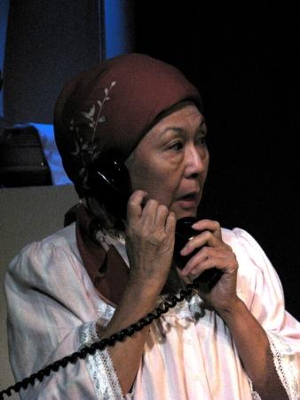 Dian Kobayashi in Daniel Akiyama's A Cage of Fireflies. Photo credit: Sammie Choy