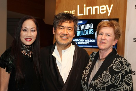 Lucia Hwong-Gordon, David Henry Hwang and Rachel Cooper. Photo by Lia Chang