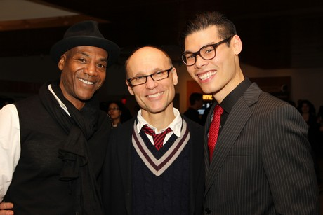 John Earl Jelks, Will Cantler and Ruy Iskandar. Photo by Lia Chang