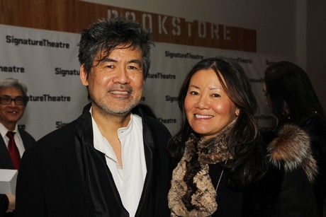 Siblings Grace Hwang and David Henry Hwang. Photo by Lia Chang