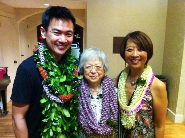 Joel de la Fuente, Tosh Furugori, Gordon Hirabayashi's sister and Jeanne Sakata