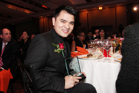 Congratulations JIA 2013 honoree Jose Antonio Vargas! Photo by Lia Chang