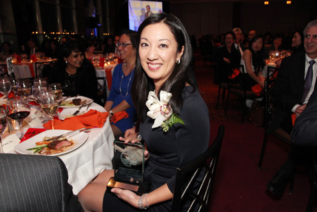 Congratulations JIA 2013 honoree Simone Wu! Photo by Lia Chang