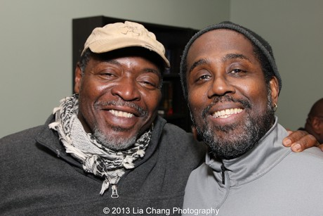 Chuck Cooper and James A. Williams. Photo by Lia Chang